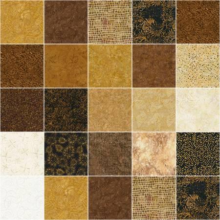 Tonga Batik Sumatra, 2-1/2in Strips, 20pcs/bundle