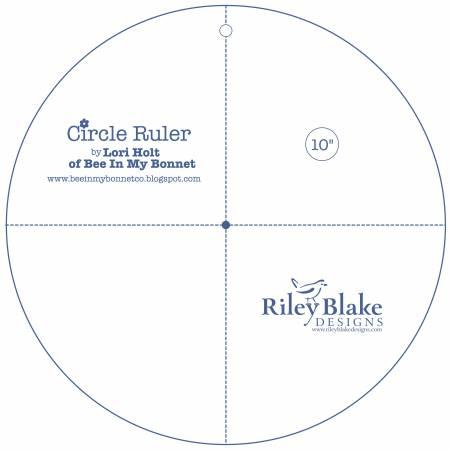 Lori Holt Circle Ruler 10in