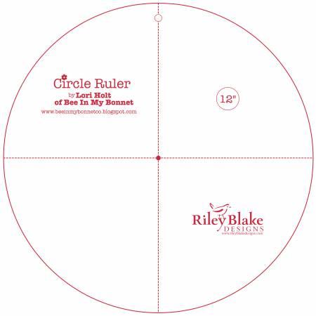 Lori Holt Circle Ruler 12in