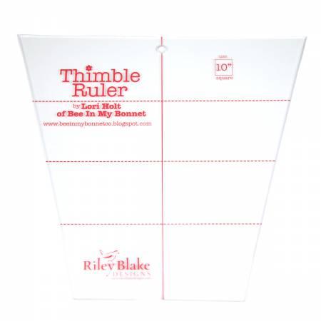 Lori Holt Thimble Ruler 10in