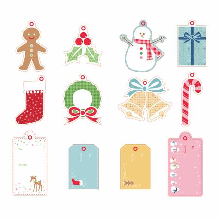 Lori Holt Gift Tags Christmas Set