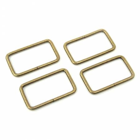 Rectangle Rings Antique 4ct 1-1/2in