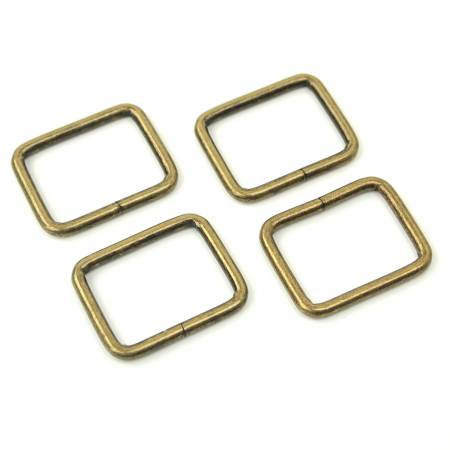 Four Rectangle Rings 1 Antique
