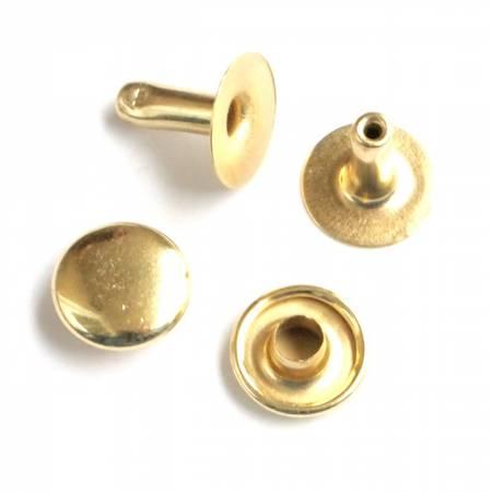 Rivet Set Gold 24ct Medium