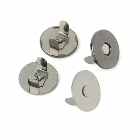 Magnetic Snap 3/4In Gunmetal