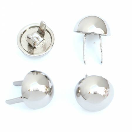 Dome Bag Feet Nickel Set of 4