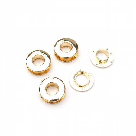 Double Faced Snap Together Grommets Gold