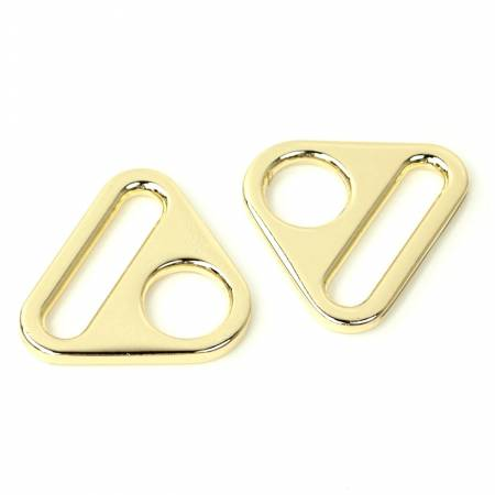 HARDWARE - GOLD Triangle Ring 1in