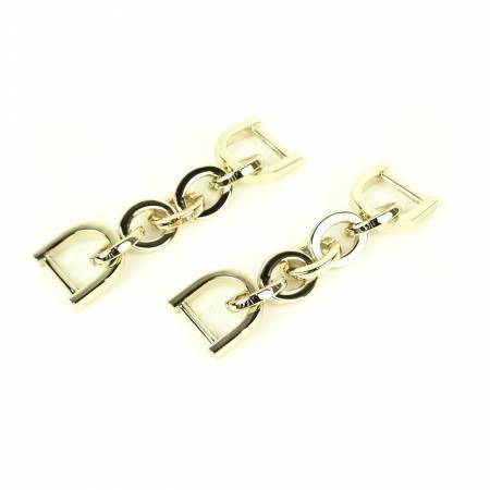 Chain Strap Connectors Gold