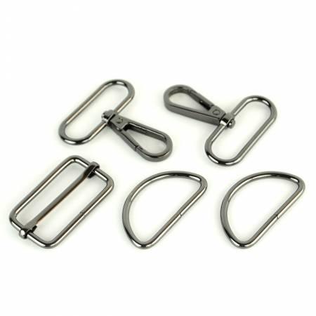 Basic Hardware Set 1-1/2in Gunmetal
