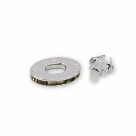 Medium Classic Turn Lock Nickel