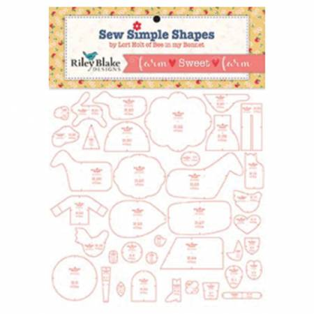 Farm Sweet Farm Quilt Template Set