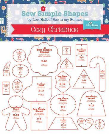 Bee In My Bonnet Sew Simple Shapes Cozy Christmas Templates
