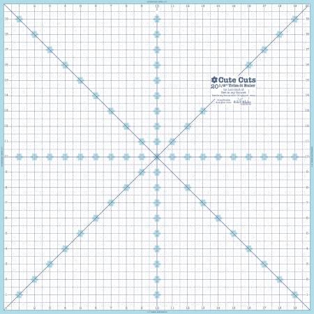 Lori Holt Trim It Ruler 20.5 Square
