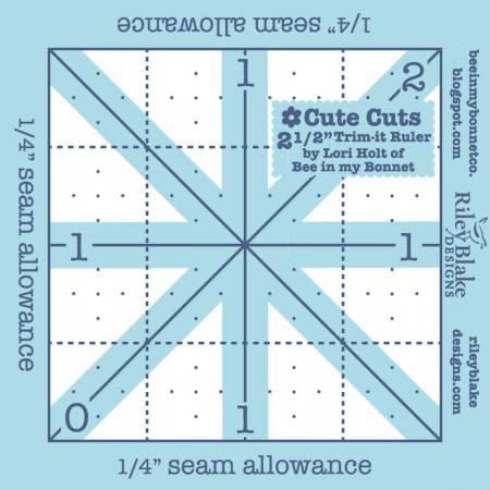 Trim It Ruler Square 2-1/2in x 2-1/2in