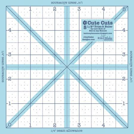 Trim It Ruler Square 5-1/2in x 5-1/2in