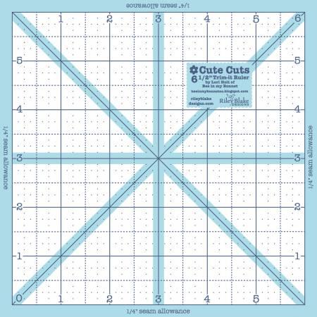 Trim It Ruler Square 6-1/2in x 6-1/2in