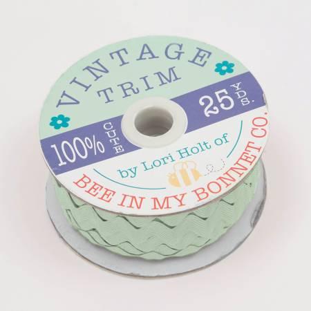 Vintage Trim 3/8 in (8mm ) Sweet Mint
