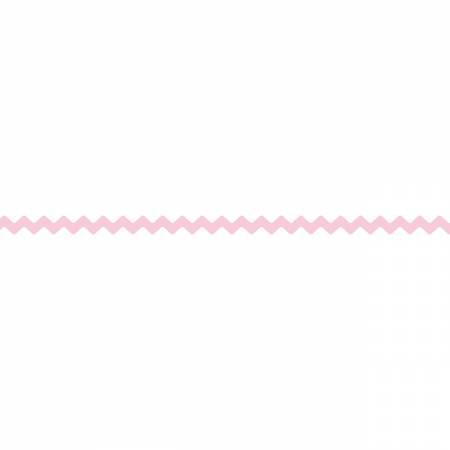Vintage Trim Rick Rack 1/4in (3.5mm) - Peony (Pink)