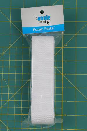 Strapping- 1-1/2in x 3 yd-white