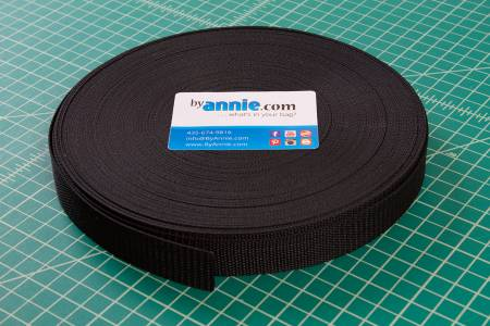 Strapping 1 1/2 inch Black