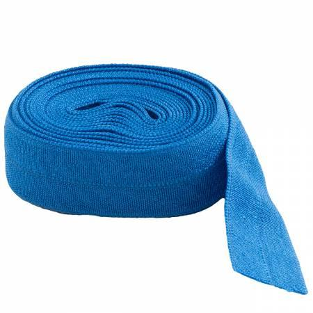 Fold-over Elastic 5/8in Blastoff Blue 2YD