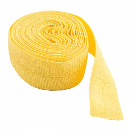 Fold-over Elastic 5/8in Dandelion 2YD