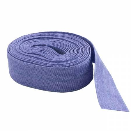 Fold-over Elastic 5/8in Lilac 2YD