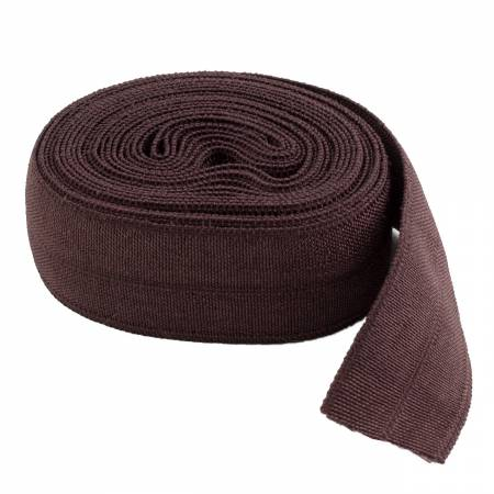 5/8 Fold Over Elastic SABLE - By Annie