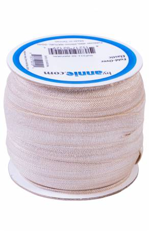 Fold-over Elastic 3/4in - Natural