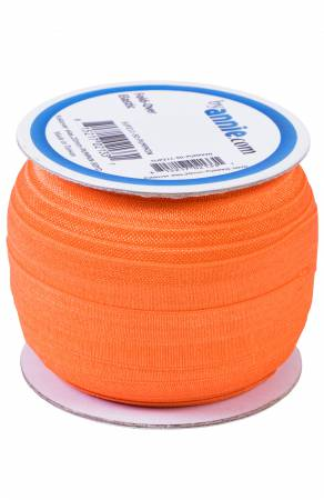 Fold-over Elastic 3/4in - Pumpkin