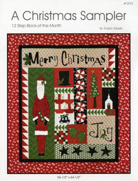 A Christmas Sampler - Block of the Month - Softcover