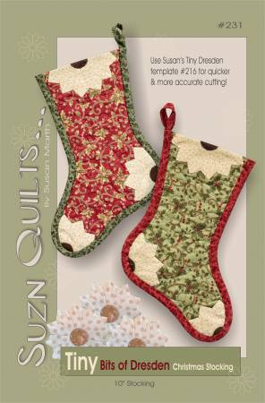 (P45) Tiny Bits of Dresden Christmas Stocking