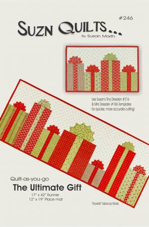 Ultimate Gift Quilt Pattern designed by Suzn Quilts