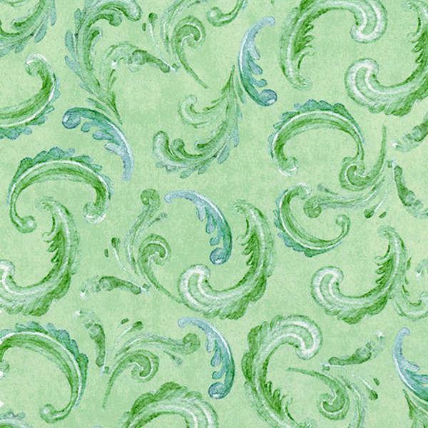Light Green Sweet Scroll