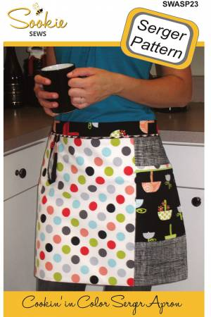 CD Cookin In Color Serger Apron