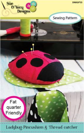 Ladybug Pincushion and Thread Catcher
