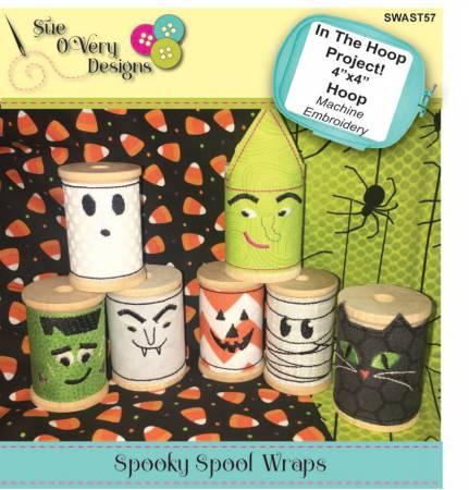 CD Spooky Spool Wraps In the Hoop