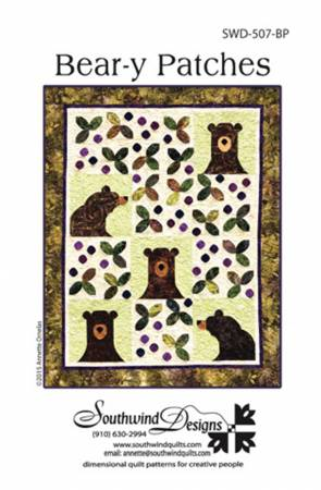 Southwind Designs Bear-y Patches