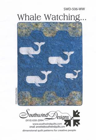 Whale Watching Quilt Pattern