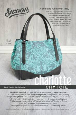 Charlotte City Tote