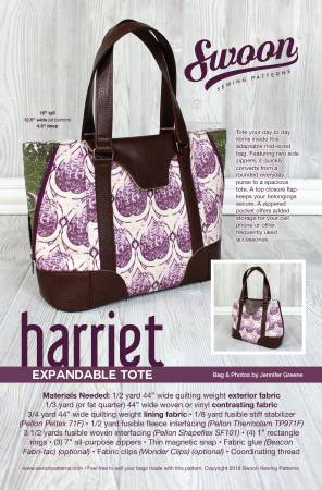 Harriet Expndable Tote