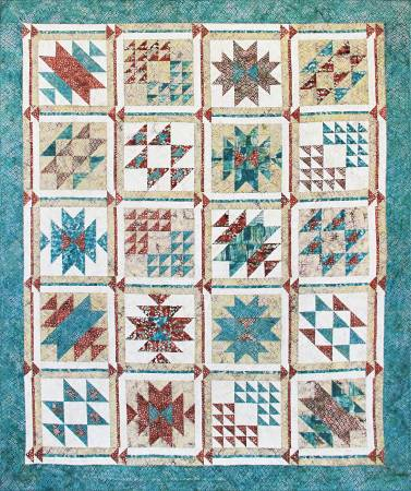 SWO-Kit Southwest Oasis Pieced Fabric/Pattern Kit McKenna Ryan