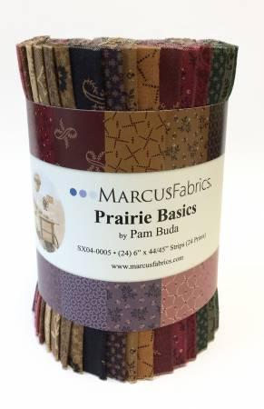 Prairie Basics 6in Strips, - 24pcs/bundle