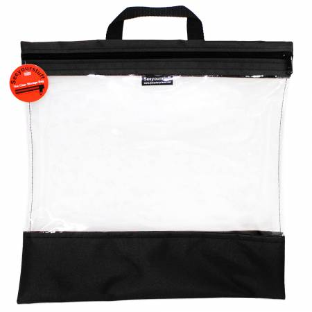 See Your Stuff Bag 16in x 16in Black