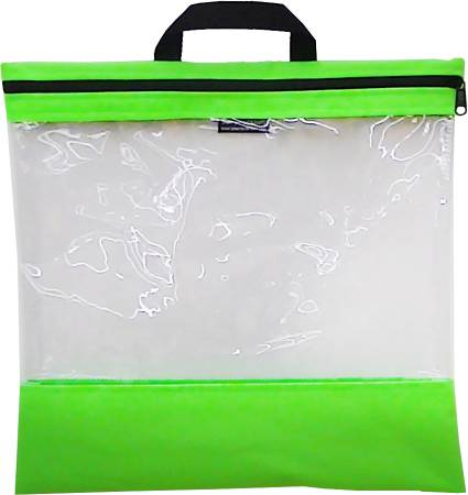 See Your Stuff Bag 16in x 16in Light Green