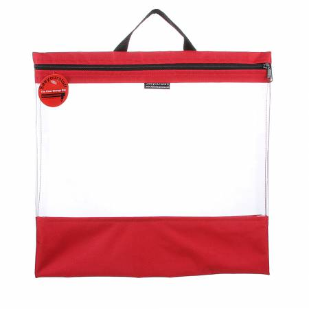 See Your Stuff Bag 16in x 16in Red