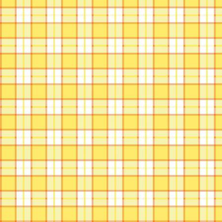Yellow Plaid 20x27in Towel