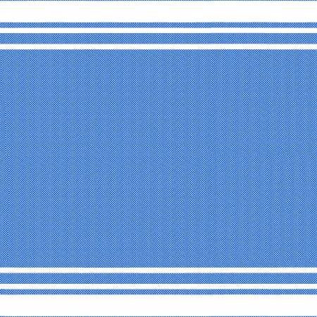 Blue Border Stripe 20x27in Towel