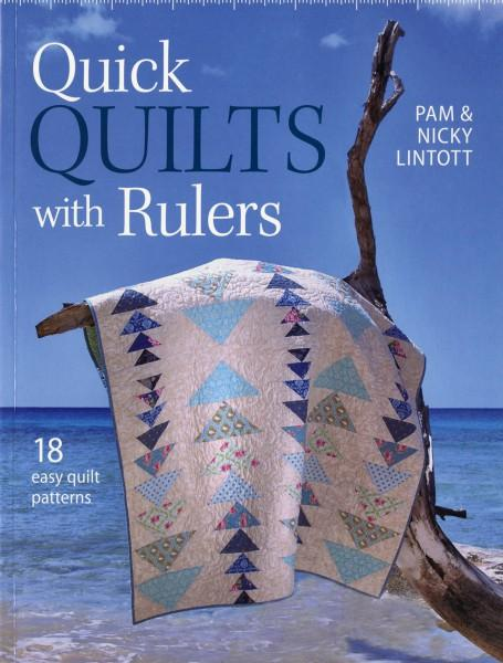 Quick Quilts With Rulers - Softcover